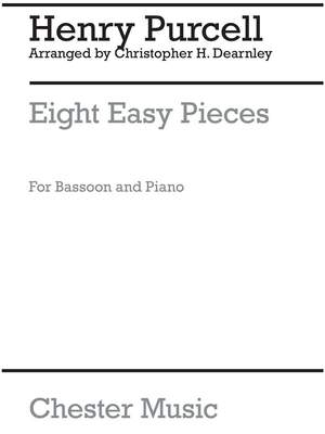 Christopher Dearnley: 8 Easy Pieces Bassoon And Piano