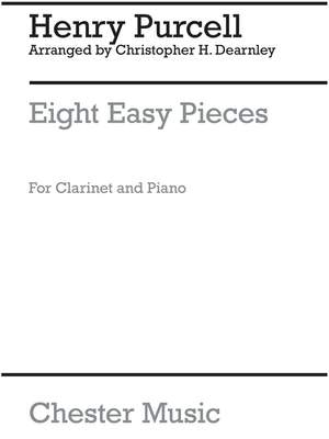 Christopher Dearnley: 8 Easy Pieces Clarinet And Piano