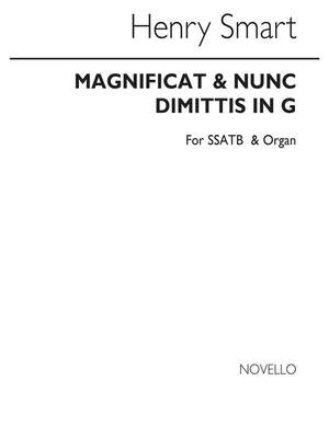 Henry Smart: Magnificat And Nunc Dimittis In G