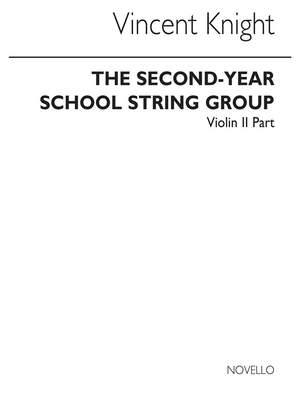 V. Knight: Second-year School String Group Violin 2 Part