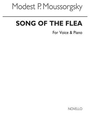 Modest Mussorgsky: Song Of The Flea Voice And Piano