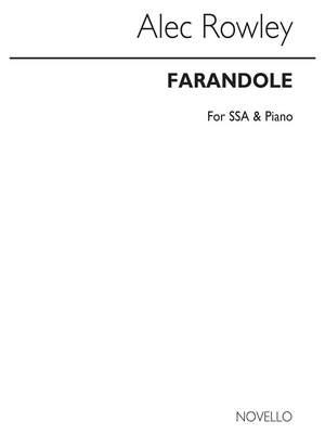 Alec Rowley: Alec Rowley Farandole Ssa/Piano