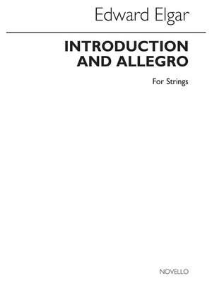 Edward Elgar: Introduction And Allegro (String Quartet Parts)
