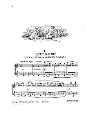 Christopher Le Fleming: The Peter Rabbit Music Book 1 (Piano Solo)