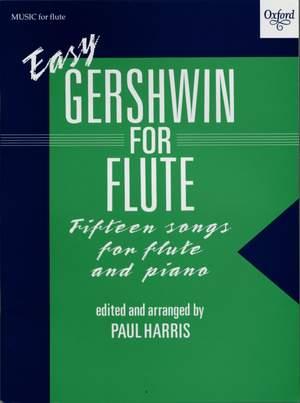 Gershwin, George: Easy Gershwin for Flute