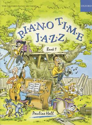 Hall, Pauline: Piano Time Jazz Book 1
