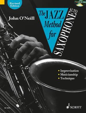 John O'Neill: The Jazz Method for Saxophone - Alto Product Image