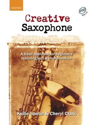 Santin, Kellie: Creative Saxophone + CD