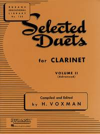 Selected Duets For Clarinet Vol. 2