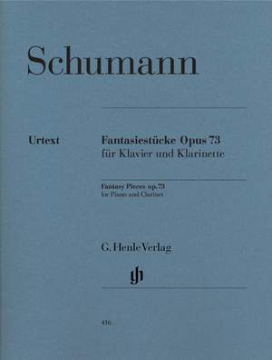 Schumann, R: Fantasy Pieces for Piano and Clarinet op. 73