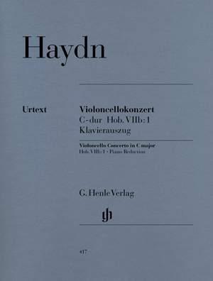 Haydn, J: Concerto for Violoncello and Orchestra C major Hob. VIIb:1