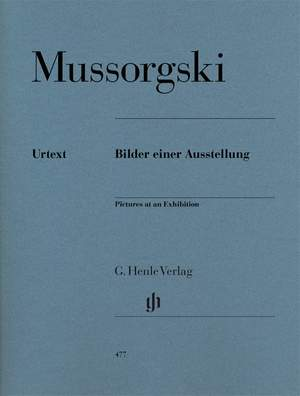 Modest Mussorgsky: Pictures At An Exhibition (Piano Solo)