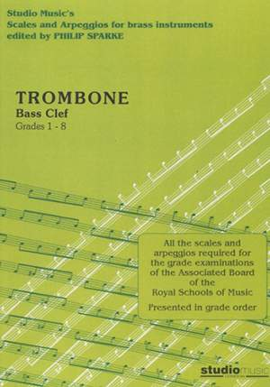 Scales and Arpeggios for Trombone Bass Clef