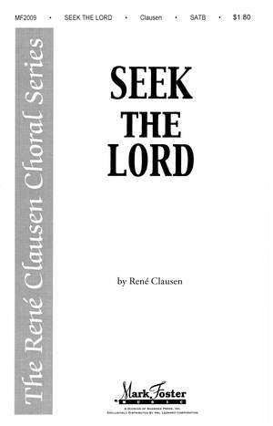 René Clausen: Seek the Lord