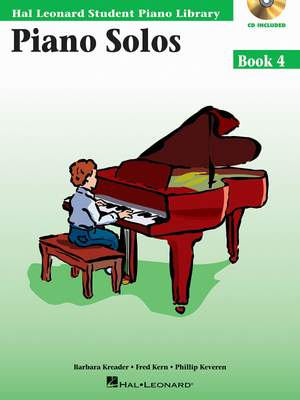 Barbara  Kreader: Piano Solos Book 4