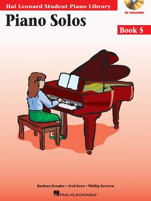 Barbara  Kreader: Piano Solos Book 5
