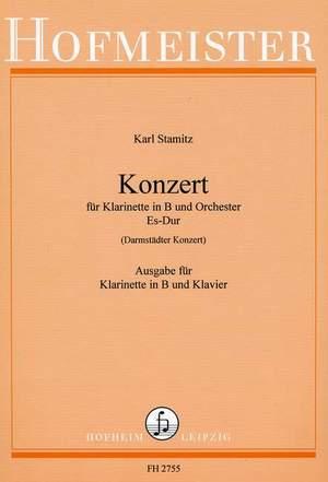 Carl Stamitz: Konzert für Klarinette und Orchester Es-Dur