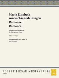 Marie Elisabeth von Sachsen-Meiningen: Romanze F-Dur