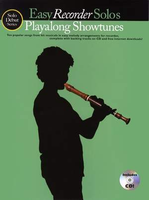Playalong Showtunes - Easy Recorder Solos