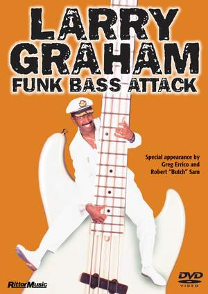 Larry Graham: Larry Graham - Funk Bass Attack Product Image