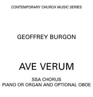 Geoffrey Burgon: Ave Verum