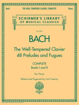 Johann Sebastian Bach: The Well-Tempered Clavier - Complete