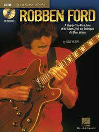 Robben Ford Signature Licks