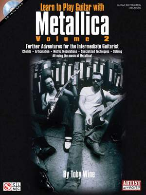 Learn to Play Guitar with Metallica - Volume 2