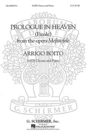 Arrigo Boito: Prologue in Heaven (Finale from Mefistofele)