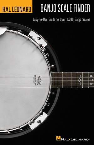 Hal Leonard Banjo Scale Finder (A5 Edition)