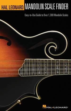 Hal Leonard Mandolin Scale Finder (A5 Edition)