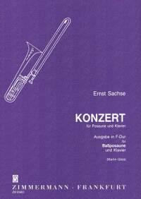 Ernst Sachse: Konzert in F-Dur