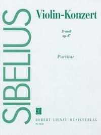 Sibelius, J: Violin Concerto in D minor Op. 47