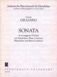 Giuliano, G: Sonata D major