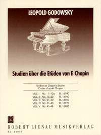 Godowsky: Studies On Chopin's Etudes For Left Hand Vol.2
