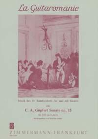 Carl Andreas Goepfert: Sonate op. 15