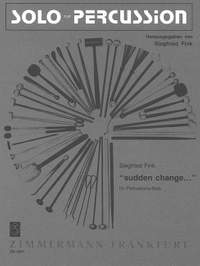 Siegfried Fink: Sudden change for Percussion