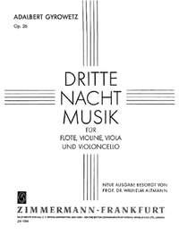 Adalbert Gyrowetz: Dritte Nachtmusik op. 26