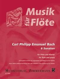 Bach, C P E: 6 Sonatas Wq 125-127, 129, 130, 134
