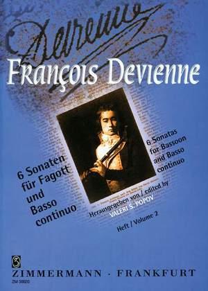 François Devienne: 6 Sonaten Heft 2