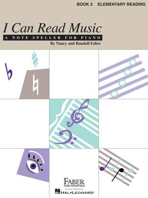 Nancy Faber_Randall Faber: I Can Read Music - Book 2 Product Image