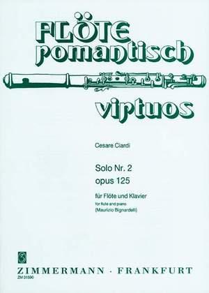 Cesare Ciardi: 3 Soli op. 125