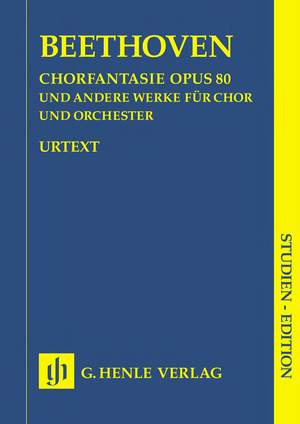 Beethoven, L v: Chorus Fantasy c minor and other works