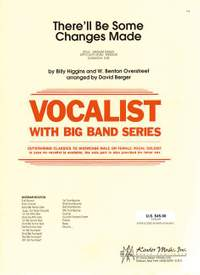 Higgins, Overstreet There'll Be Some Changes Vocalist W/ Big Band