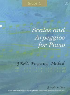 Josephine Koh: Scales And Arpeggios For Piano Grade 1 Product Image