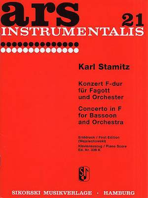 Carl Stamitz: Concerto For Bassoon And Orchestra