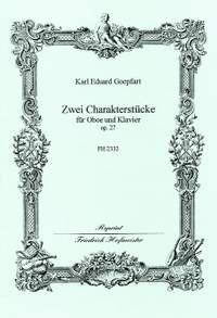 Göpfert, K. E: 2 Character Pieces Op 27