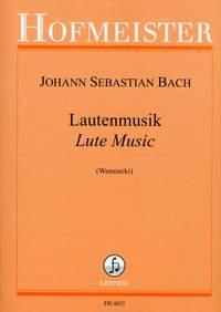 Johann Sebastian Bach: Lautenmusik (Wensiecki)