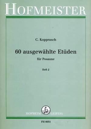 C. Kopprasch: 60 Ausgewahlte Etuden (Seyffarth) - Heft 2
