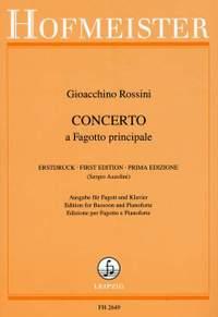 Gioachino Rossini: Konzert für Fagott und Orchester